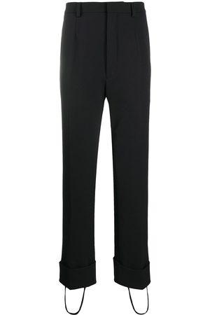 Prada Stirrup-cuff tailored trousers
