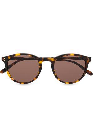 Polo Ralph Lauren Round tortoiseshell sunglasses