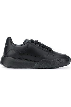 Alexander McQueen Court leather low-top sneakers