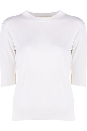 Marni Half sleeves crew neck jumper