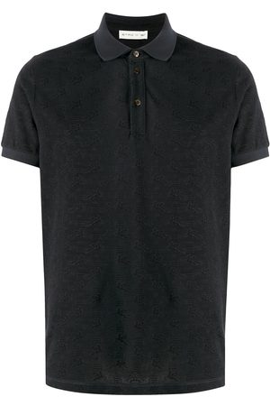 Etro All-over logo cotton polo