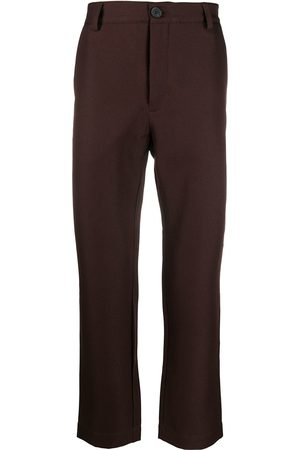 Goodfight High-waisted straight leg trousers