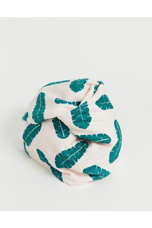 Coco & Eve Microfibre Hair Towel Wrap-No Colour