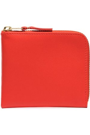 Comme des Garçons Orange half-zip leather wallet