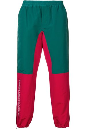 John Undercover Colour-block track trousers