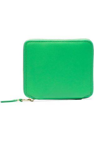 Comme des Garçons Green classic leather wallet