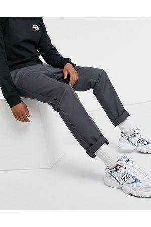 Dickies Muži Chino - 872 slim fit work pant in charcoal grey