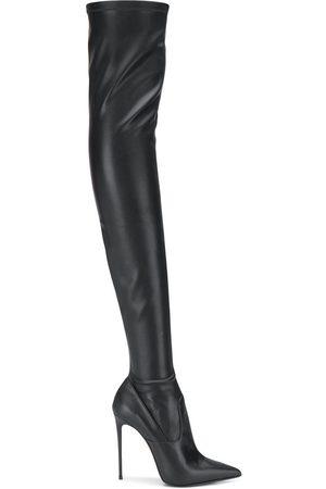 LE SILLA Eva thigh-high leather boots