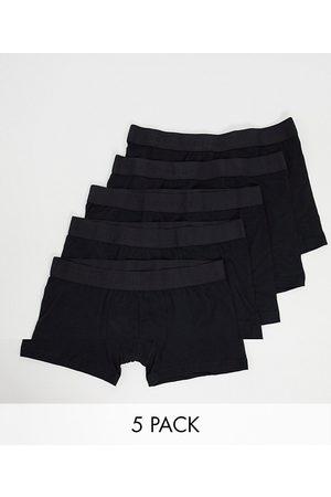 Selected Muži Ponožky - 5 pack trunks in black