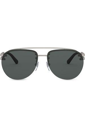 Bvlgari Aviator frame sunglasses