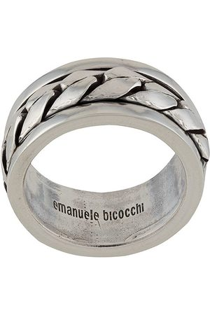 EMANUELE BICOCCHI Woven-effect band ring