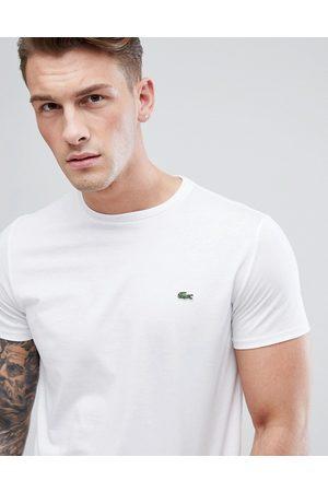 Lacoste Muži S krátkým rukávem - Logo pima cotton t-shirt in white
