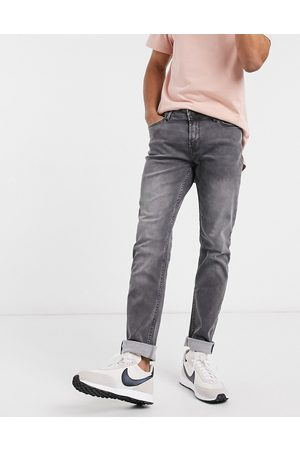 Only & Sons Muži Slim - Stretch jeans in slim fit grey