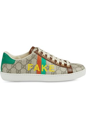 Gucci Fake/Not' print Ace sneakers