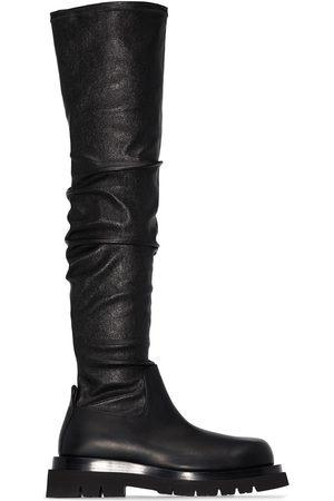 Bottega Veneta Thigh high chunky boots