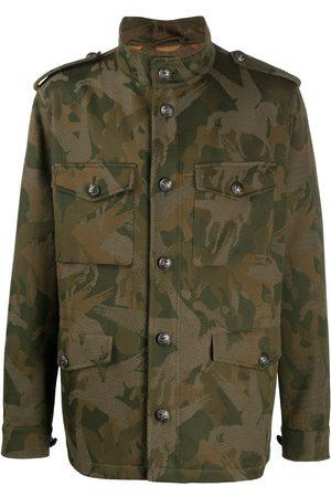 Etro Camouflage-print jacket