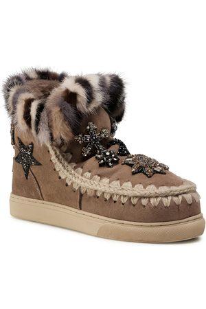 Mou Eskimo Sneaker Star Patch&Mink FW111006A
