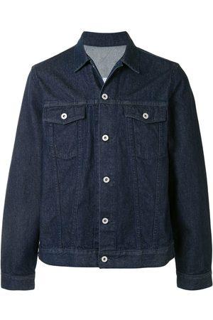 A BATHING APE® Chest-pocket denim jacket