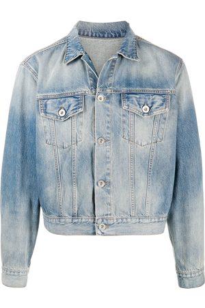 Unravel Project Cropped denim jacket