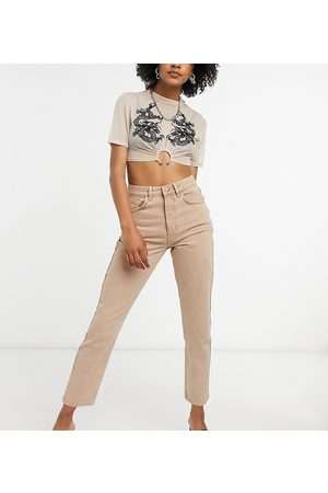 Reclaimed Vintage Inspired the 91' mom jean in sand-Beige