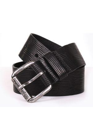 Pepe Jeans Muži Pásky - Pánský černý pásek Alton