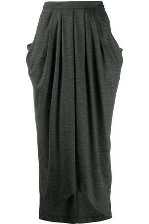 Isabel Marant Draped mid-length skirt