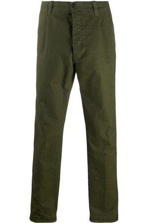PT01 Contrast-pocket cotton trousers