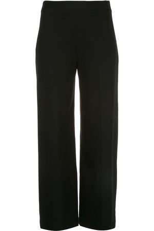 ROSETTA GETTY Pull-on cropped straight trousers