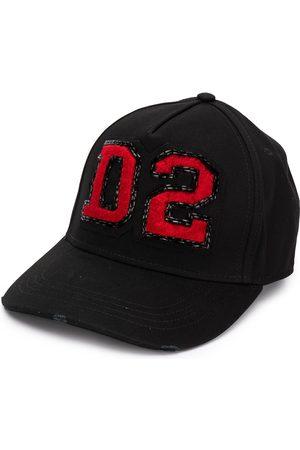 Dsquared2 Ženy Kšiltovky - D2 logo patch cap
