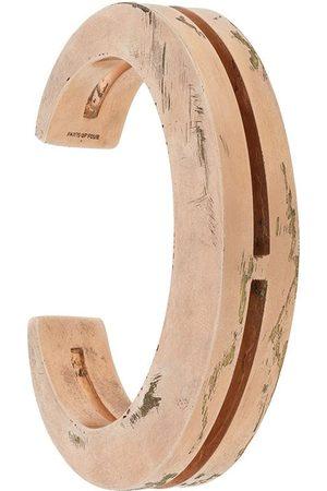 PARTS OF FOUR Crescent Crevice Bracelet 15mm