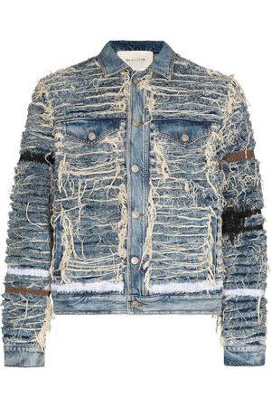 1017 ALYX 9SM X Blackmeans shredded denim jacket