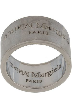 Maison Margiela Engraved-logo ring