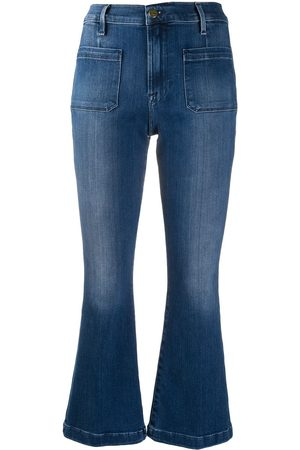 Frame Flared organic cotton jeans