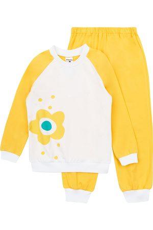 GARNA MAMA sp. z o.o. Dívčí pyžamo Flower Yellow