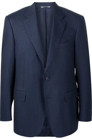 CANALI Single-breasted fitted blazer