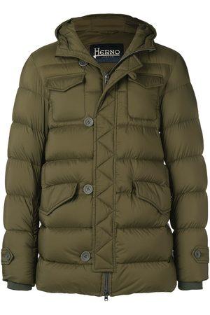 HERNO Short padded coat
