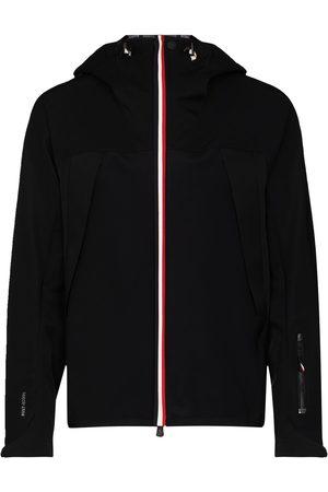 Moncler Black maglia hooded jacket