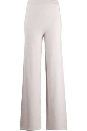 GENTRYPORTOFINO Cashmere-blend knitted trousers