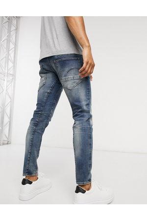 G-Star Muži Slim - D-Staq 3D slim fit jeans in medium aged-Blue