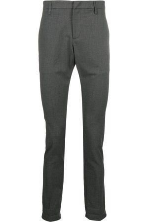 Dondup Check straight-leg trousers