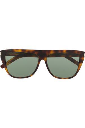 Saint Laurent Oversize-frame sunglasses