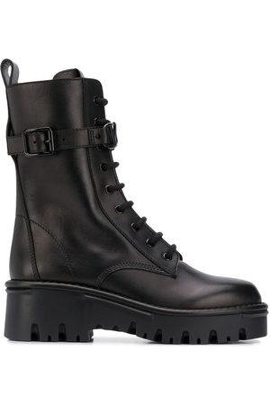 VALENTINO GARAVANI Lace-up military boots