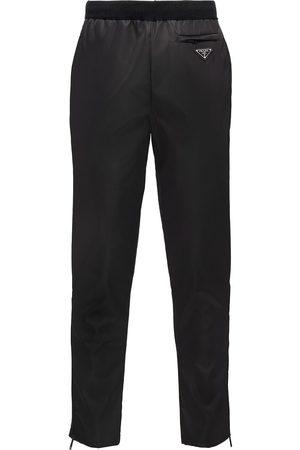 Prada Gabardine straight-leg trousers