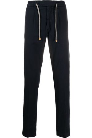 ELEVENTY Straight-leg drawstring trousers