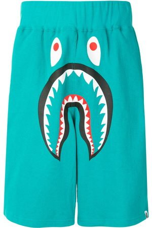 A BATHING APE® Shark wide track shorts