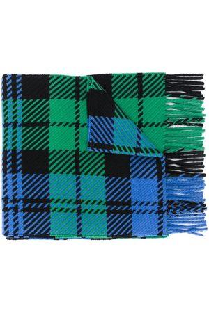 MACKINTOSH Šály a šátky - Fringed tartan scarf