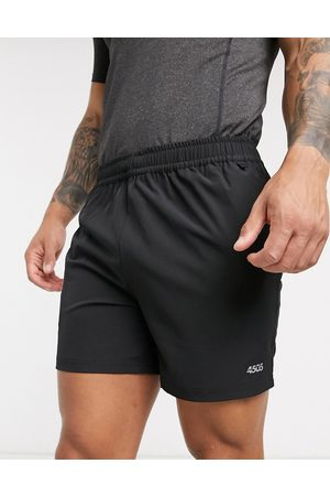 ASOS Icon training shorts in mid length with quick dry in black