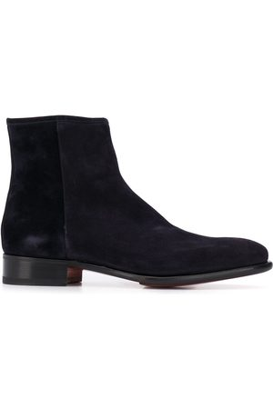 santoni Zipped ankle boots