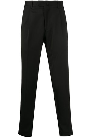 DELL'OGLIO Ankle length tailored trousers