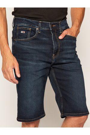 Tommy Hilfiger Muži Šortky - Pánské tmavě modré šortky